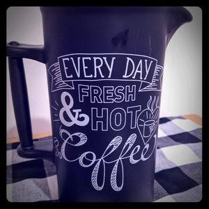 Coffee Pitcher & Mugs